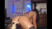 horny girl fucked by sex machine.. fuck models like her at-hotsexoncam.com Thumbnail