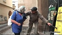 Nasty granny still knows to please a dude Thumbnail