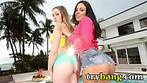 Big Ass MILF Pornstars Luna Star and Aurielee S...