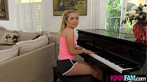 Piano is not right for my hot stepsister but my...