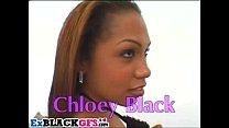Ass shaking Chloe Black gets double penetrated Thumbnail