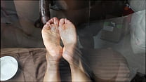 Ebony Wrinkled solejob (not my video)2 Thumbnail