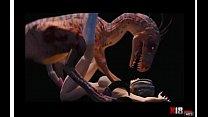 dinosaurio cogiendo chica Thumbnail