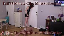 Miles Striker Comes Out of BallBusting Retirement's Thumb