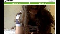Hot russian girl shows her beautiful body