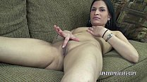 Exotic MILF Naomi Shah is playing with her swee...