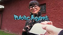 Fake Agent Hot desk fuck with tanned perfect as...