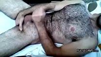 Hairy Hunk Masturbates And Orgasms