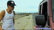 Hitchhiker Twink Gets Picked Up Thumbnail