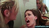 (kleio&madi) Hot Lez Girl Get Sex Toy Punish By...