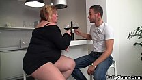 Huge boobs plumper breaks up a couple