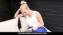 TeensLoveBlackCocks - Pierced Blonde Loves Big ...