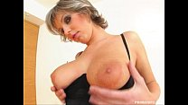 Prime Cups Busty milf fucks two lucky guys