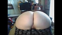 Curvy college girl spreads her big ass - WetSlu...