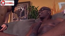 His big dick makes them both squeal HD Porn