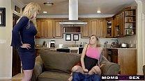 MomsTeachSex - BigTit Aunt Brandi Love Helps Te...