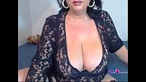 Sexy Hot Granny Showing Her Body On Cam - gspot...