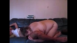 Hot Babe Sucks Fucks On Couch