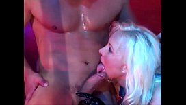 Very Beautiful Busty Blonde Babe takes Cumshots Dutch German Helen Duval