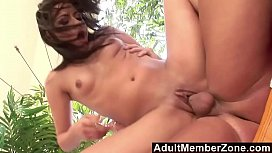 AdultMemberZone Tropical latina really knows how to coax a load