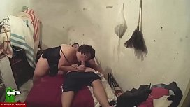 Blowjob in the shabby room SAN