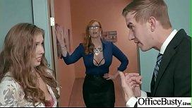 Slut Girl Lauren Phillips Lena Paul With Round Huge Tits Get Nailed In Office vid
