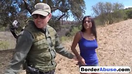Good looking Latina with natural tits gets fucked in the wilderness