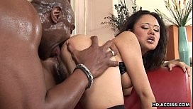 Annie and the black dude fucking her ass with ease