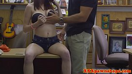 Desperate babe felled up by pa oker
