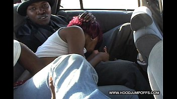 Honey NYC Rooftop SEX in car