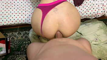 Pretty Woman Takes A Big Cock Deep Into Her Delicious Ass.Feralberryy