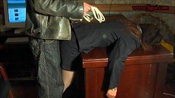 Lady bondage...