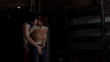 Desmond Harrington and huge tits Thora Birch - Love scene in the hole 2001