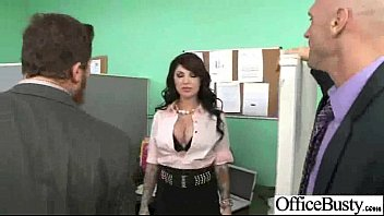 Sex In Office With Nasty Wild Busty Worker Girl vid-15