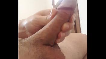 Mushroom cock masturbation