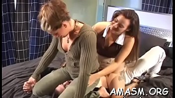 Ravishing girlie drilled well in doggy