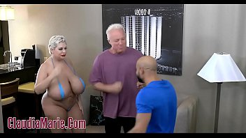 Huge tit claudia marie tore up angry men...