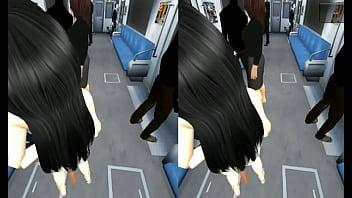 XXX simulator VR train gropped www.patreon.com/dragon972