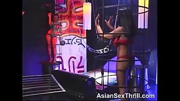 Super hot asian lesbo scene