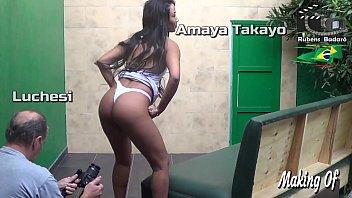 Streaming Video Making of Amaya Takayo atriz, production Rubens Badaro. (Full video in Xvideos Red) - XLXX.video