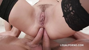 Charlotte Cross  first time Double Anal with B ble Anal with Balls Deep Anal Gr
