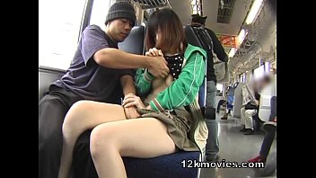 publicsex loving asian plays with cum