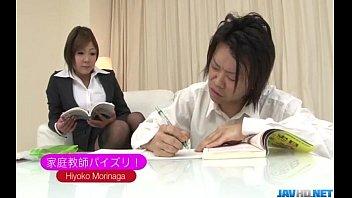 thumb Naughty Nbsp Hiyoko Morinaga Uses Her Tits To Stroke