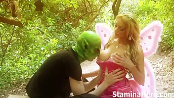 pascal rams a fairy outdoors until the eart stops spinning