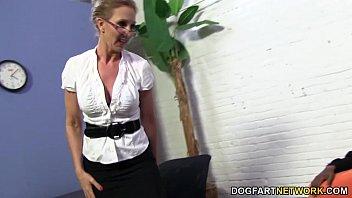 thumb Hot Cougar Jenna Covelli Takes Two Bbc 039 S
