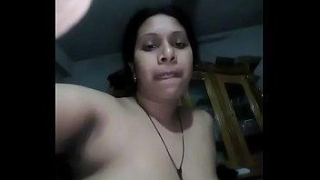 Aunty masturbating