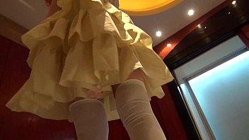 【コスプレ】萌系コスプレ巨乳娘を着せ替えながらエッチなコトをさせちゃった