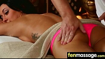 Sexy Masseuse Helps with Happy Ending 17
