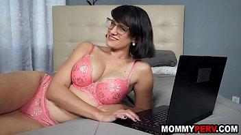 My step mom finds milf porn vids on my computer