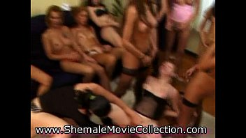 shemales gang bang girl movies